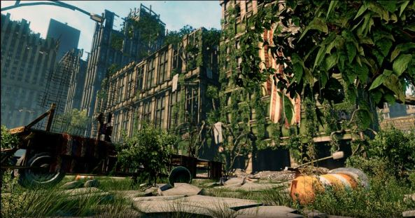 Overgrown Environment 2